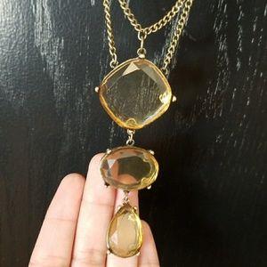 LOFT Ann Taylor bronze citrene stone